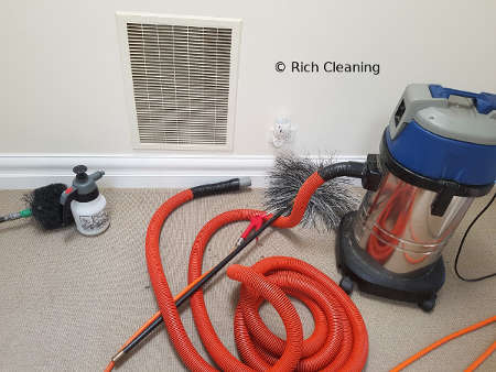 Duct Cleaning Preparation